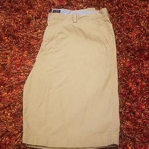 Men's J. CREW Khaki long shorts size 36w